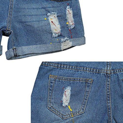 ventre Style2 Neuf Mode Jeans de Maternit Shorts Femme Deylaying Denim soutien lastique S64Rq