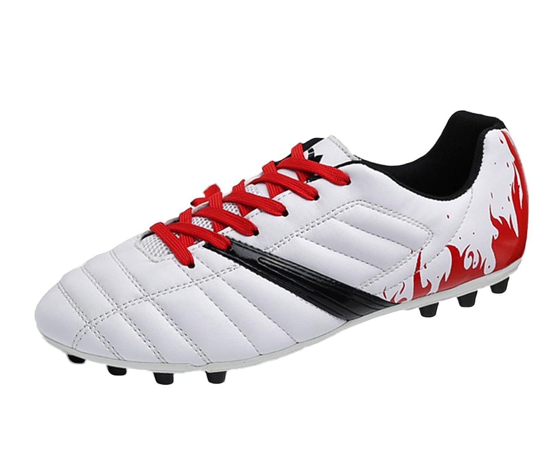 SK StudioメンズMessi Turfインドア速度特許Football Shoe B01M1GT8WSホワイト-レッド 2.5 M US Little Kid