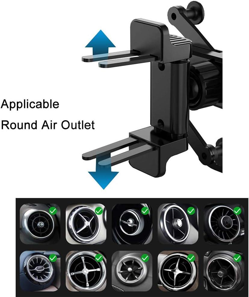 best phone holder for round air vents, MULTAICH phone holder for circular air vents