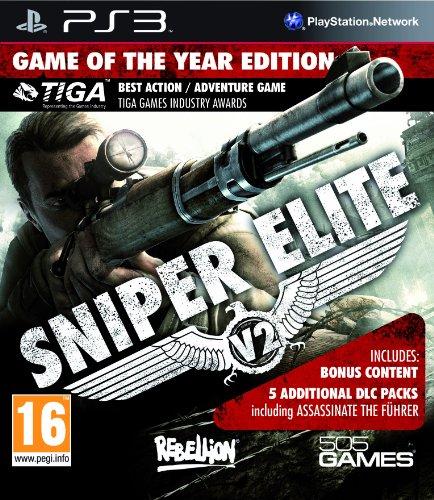 Resultado de imagem para sniper elite v2 goty ps3