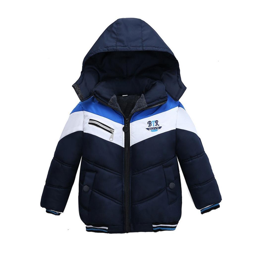 HOT ! YANG-YI Fashion Kids Coat Boys Girls Thick Coat Padded Winter Jacket Outfit