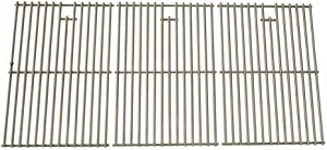 Stainless Cooking Grid for Select Gas Grill Models by Kenmore 122.16648900, Jenn-Air, Brinkmann and Charmglow 720-0396, 720-0536, 720-0234, Kmart, SAMS 720-0582, 720-0677 Set of 3
