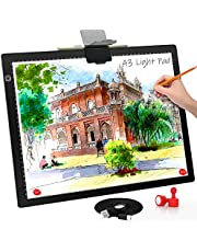 Comzler A4 Light Pad,Portable Tracing Light Board