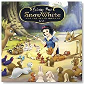 #5 Coloring Book Snow White and the Seven Dwarfs: Best Seller