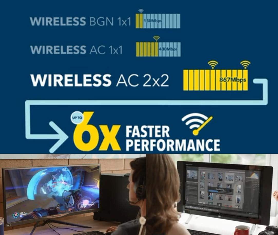 5-GHz-Netzwerkkarte 300 Mbps Bluetooth 4.0 Mini-PCI-E-Karte AR5B22-Netzwerk-Wireless-Karte f/ür Laptops mit Mini-PCI-E-Mainboard Bewinner WiFi-Karte Dual-Band-2,4-G