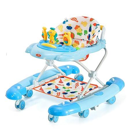 ZHANGYU Andador para bebés con Disco de música Sistema de ...