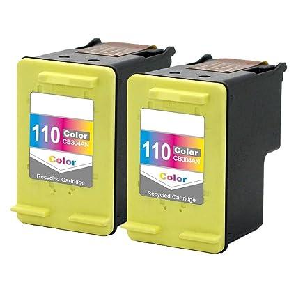 Cartucho de tinta tricolor compatible con HP 110 CB304A para ...