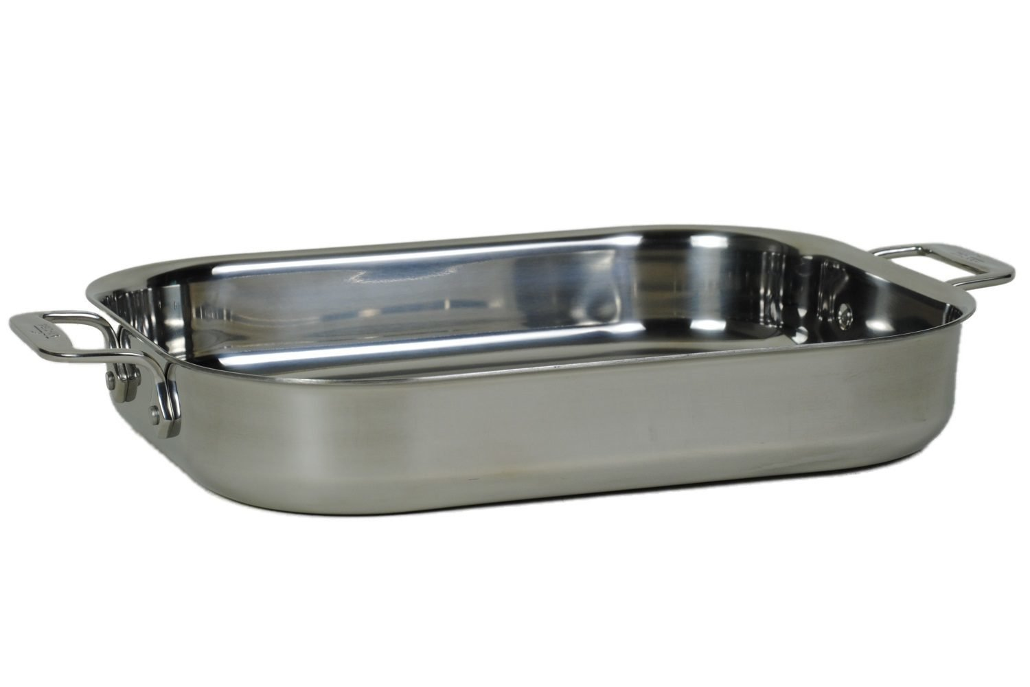 All-Clad 00830 Stainless-Steel Lasagna Pan with 2 Oven Mitts/ Cookware, Silver by All-Clad B017DM067Y
