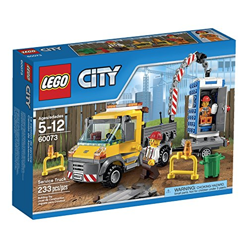 LEGO City Demolition Service Truck (60073) (City Building Crane Lego)