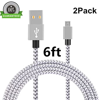 Amazon.com: Cable Micro USB, asstar [3 Pack] 10 ft Premium ...