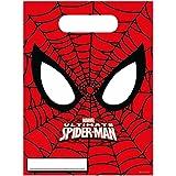 6 Bolsas regalos Ultimate Spiderman - Única