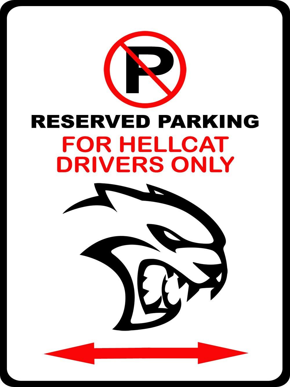 Amazon.com: Maddmax – Cartel para coche Dodge SRT Hellcat ...