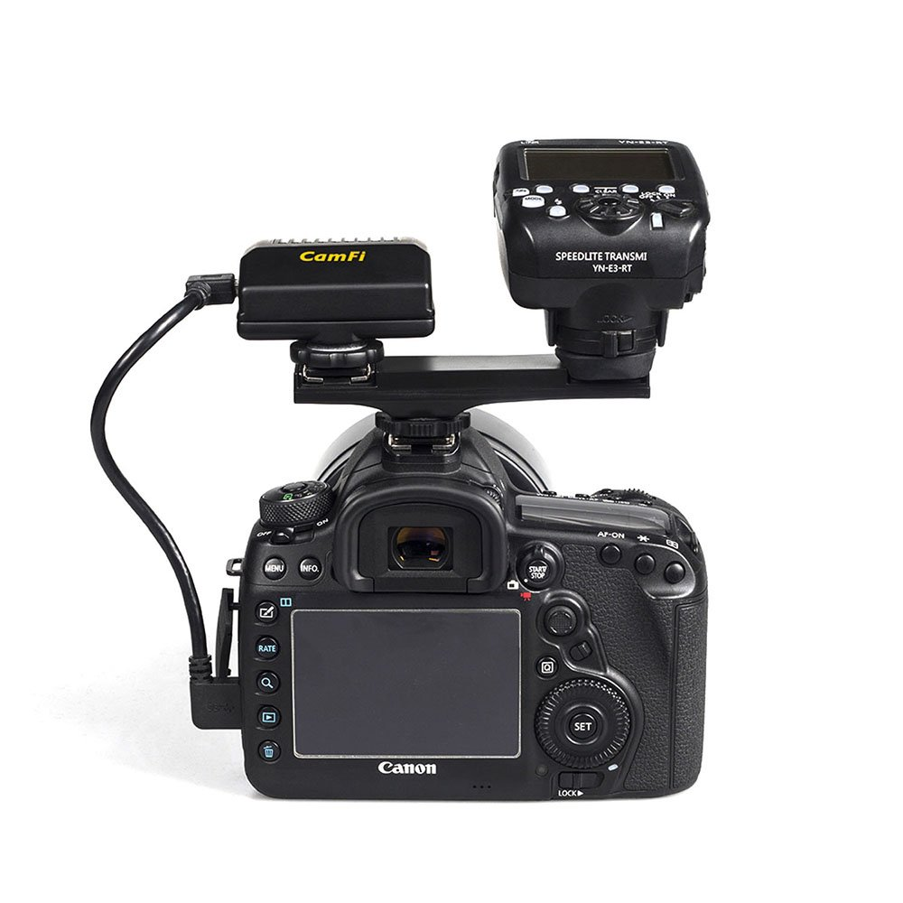 CamFi Pro Wireless Tether Shooting Tools DSLR Camera Remote Controller  Capture Transmit for Canon Nikon(High Speed Transmit, Live View, Support