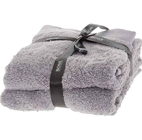 BOSS Hugo - Toalla de algodón Peinado (2 Unidades, 60 x 40 cm)