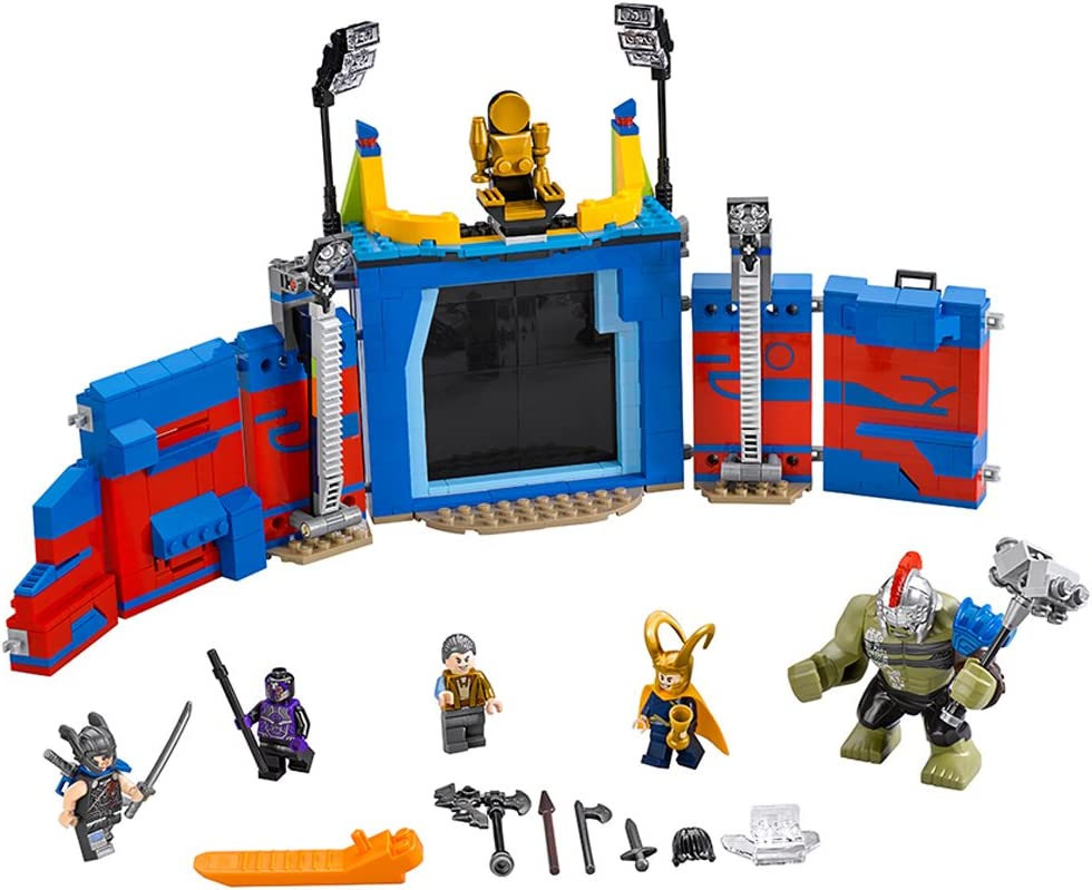 LEGO Super Heroes Thor Vs. Hulk: Arena Clash 76088 Building Kit (492 Piece)