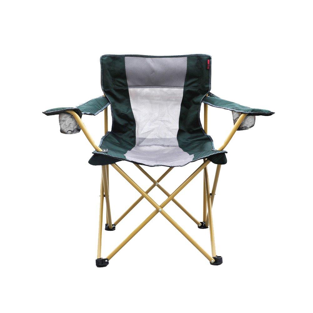 Klappsessel – atmungsaktiv Oxford Tuch Material Bold Aluminium Legierung Stahl Tube können 150 kg für Damen und Herren geeignet Camping-, Urlaub, Garten, Reisen, Angeln, Strand, Grill, Skizze