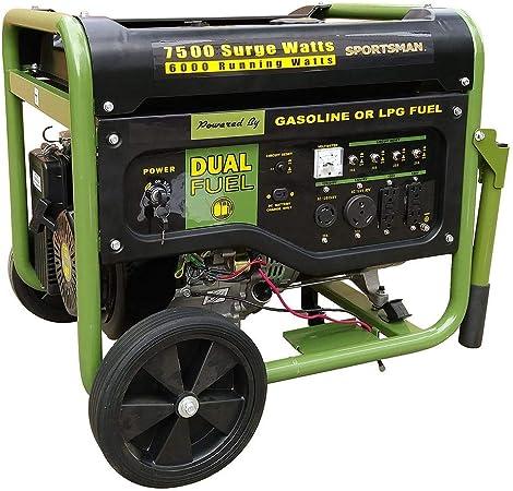 Amazon.com: Sportsman - Generador portátil de combustible ...