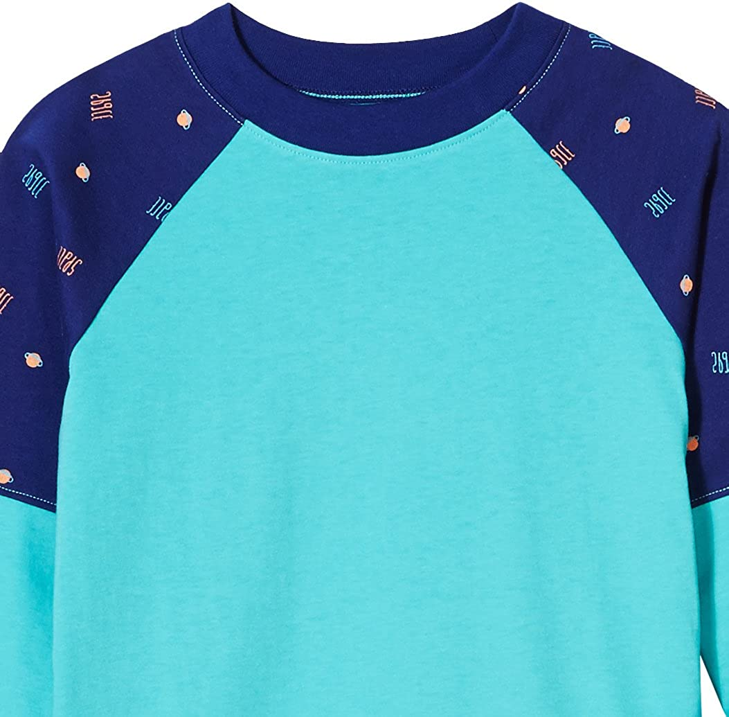 A for Awesome Boys Raglan Crewneck Tee