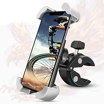 10 Years Refund 2021 Newest Technology Motorcycle Bike Phone Mount,360/° Rotation Anti-Shake Bike Phone Holder,Universal Phone Mount for Adult Bikes iPhone 11 S10 Galaxy S9,Height 4.7 to 7 in X