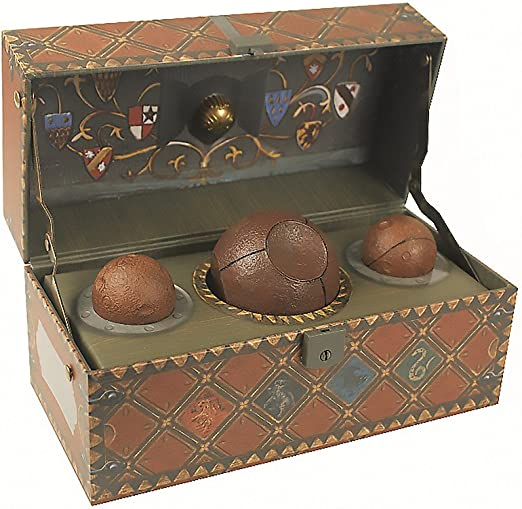 Harry Potter. Collectible Quidditch Set: Running Press, Running ...