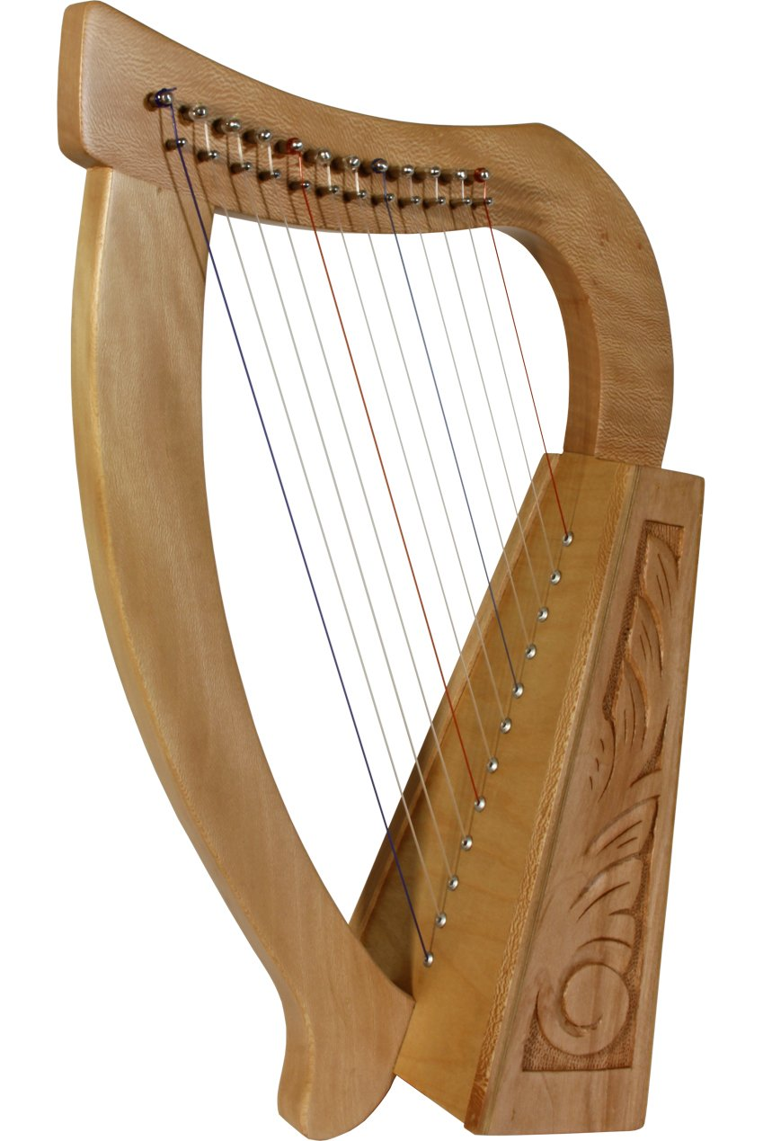 ROOSEBECK BABY HARP 12-STRING, LACEWOOD by Mid-East