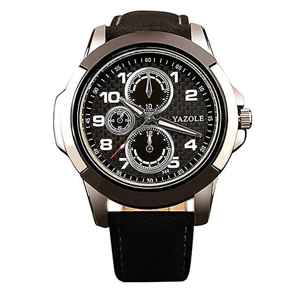 Yazole 350 Yazole reloj deportivo para hombre relojes reloj macho reloj de cuarzo muñeca reloj de