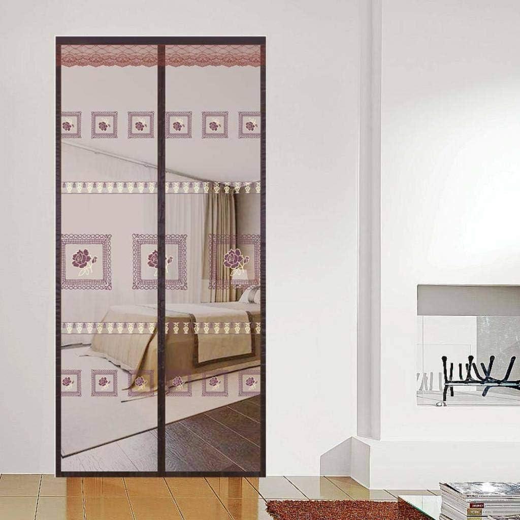 COAOC Mosquitera Puerta con Durable Mosquiteras a Medida con Malla Super Fina para para Puertas Correderas - A 47x94inch(120x240cm): Amazon.es: Hogar