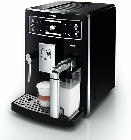 Saeco - Cafetera Espresso Hd894311, Metal Negro: Amazon.es: Hogar