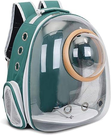 ESSEASON Pet Cat Backpack Bubble, Transparent Space Capsule Dog Carrier Bag Cats Puppy Astronaut Travel Carry Handbag Outdoor Transparent Pet Cat Bag Portable Pet Supplies: Amazon.es: Hogar