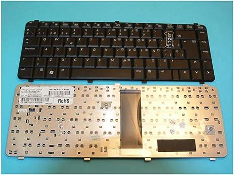 IFINGER Teclado para PORTATIL HP Compaq 610 EN ESPAÑOL Latino Nuevo Negro