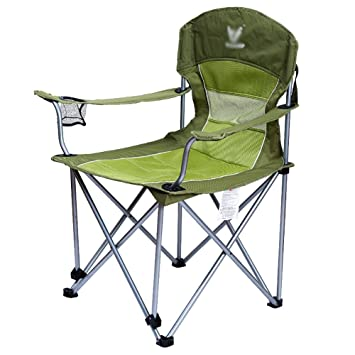 WSSF- Sillas de Camping Plegables de algodón de Lujo con ...