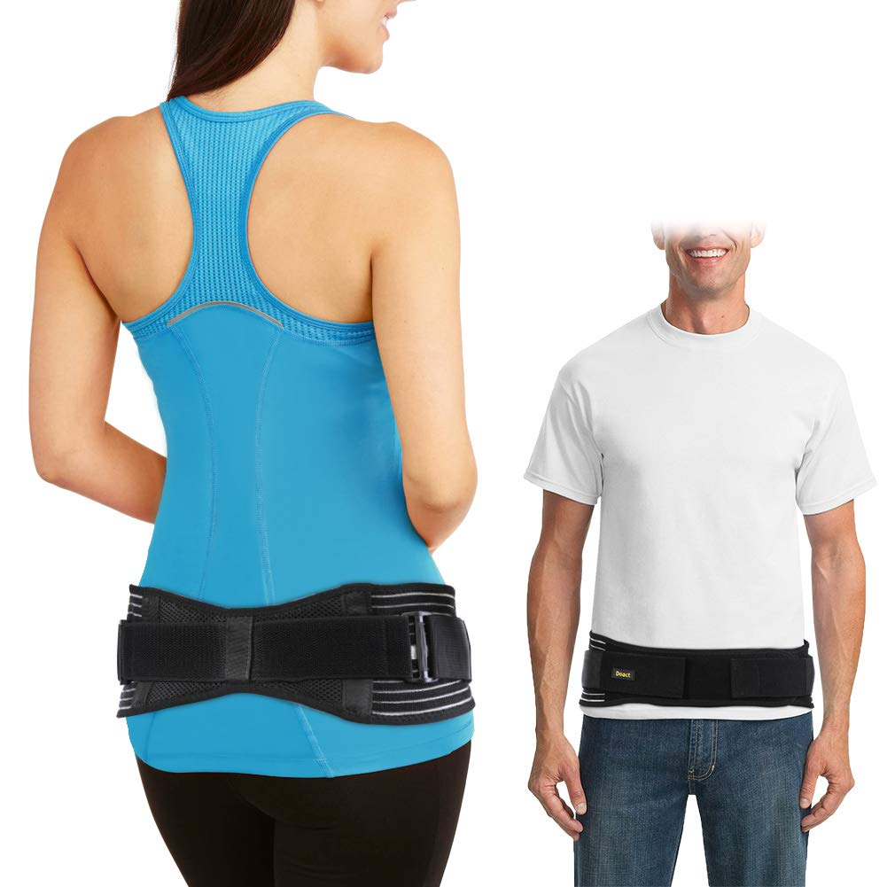 """SI Belt - Sacroiliac Belt for Women and Men, Adjustable SI Joint Belt for SI Joint Pain Relief, SI Brace for Low Back Support Hip and Sciatica Pain, SacroiliacJoint Belt Pregnancy (L/XL (43"""" – 55""""))"""