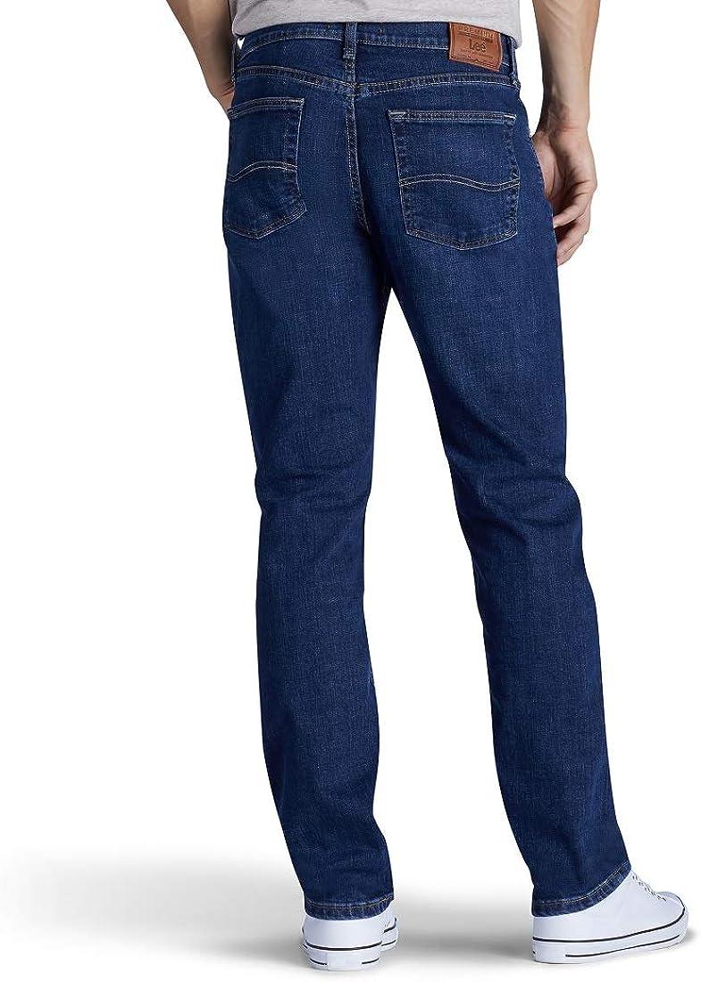 Lee Jean Premium Select Ajuste Clasico Pierna Recta Para Hombre Clothing Amazon Com