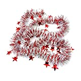 Zalanala Christmas Decorations Colorful Garland Bar Christmas Tree Decoration Xmas Party Hanging Ornaments