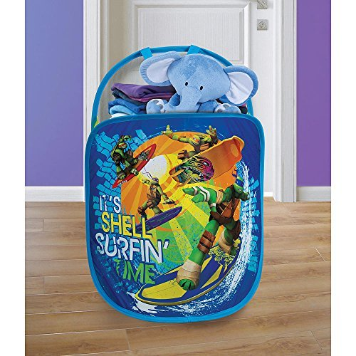 All The Ninja Turtles Characters (Playhut Pop N Play Laundry Tote - Teenage Mutant Ninja Turtles)