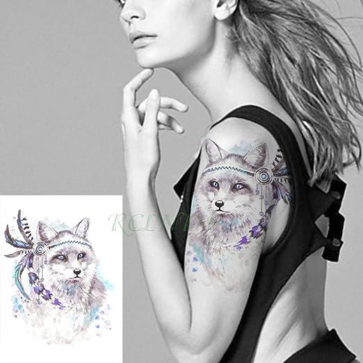 Handaxian 3 Piezas Etiqueta de Tatuaje a Prueba de Agua Mago Bruja ...