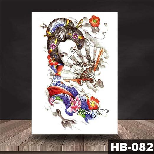 tzxdbh 3Pcs-Etiqueta engomada del Tatuaje Impermeable Patrón de ...