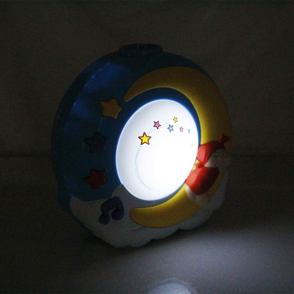 reproduce canciones relajantes con control remoto para beb/és con estrellas proyector giratorio sue/ños Juguete musical m/óvil cuna de beb/é