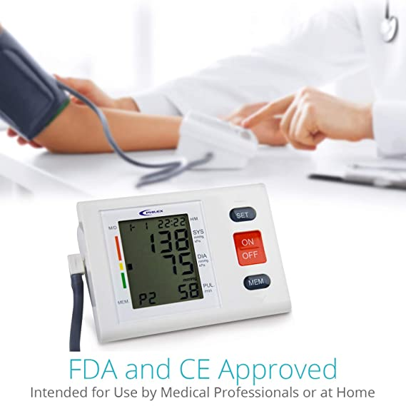 Monitor de presión arterial - Philex de grado médico profesional con pulsómetro y brazo superior automático BPMachine - Lectura clara y precisa: Amazon.es: ...
