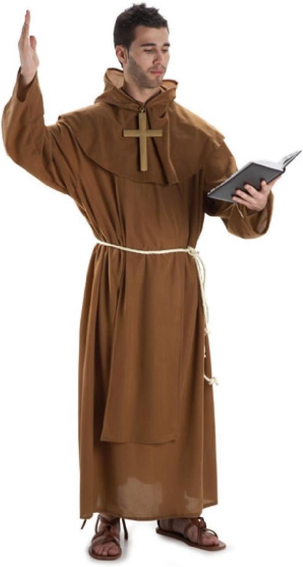 Disfraz monje adulto. Talla 50/52.: Amazon.es: Juguetes y juegos