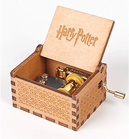 Caja De Música Hecha A Mano Harry Potter, Caja De Música Clásica Y Tallada A Mano, Amigos: Amazon.es: Hogar