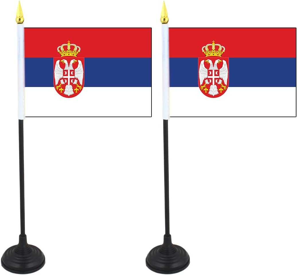 Halter Sonia Originelli 2er Set Mini Fahne Flagge L/änder Fan WM Fu/ßball inkl