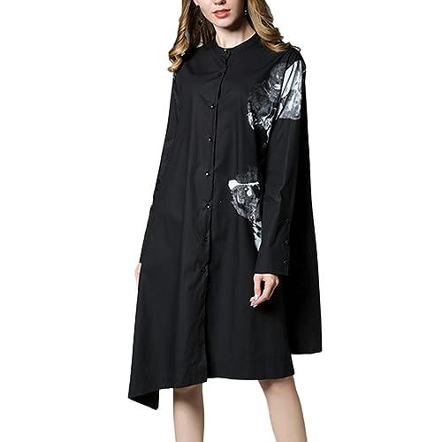 JLTPH - Camisas - Manga Larga - para mujer