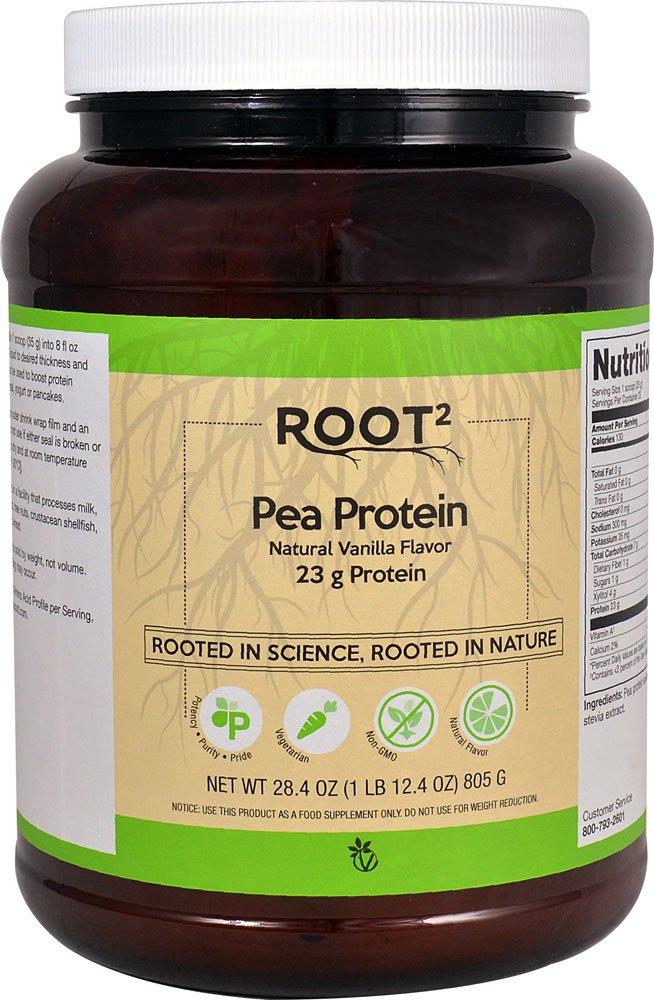 Vitacost Pea Protein Vanilla — 28.3 oz 1 lb 12.3 oz 805 grams