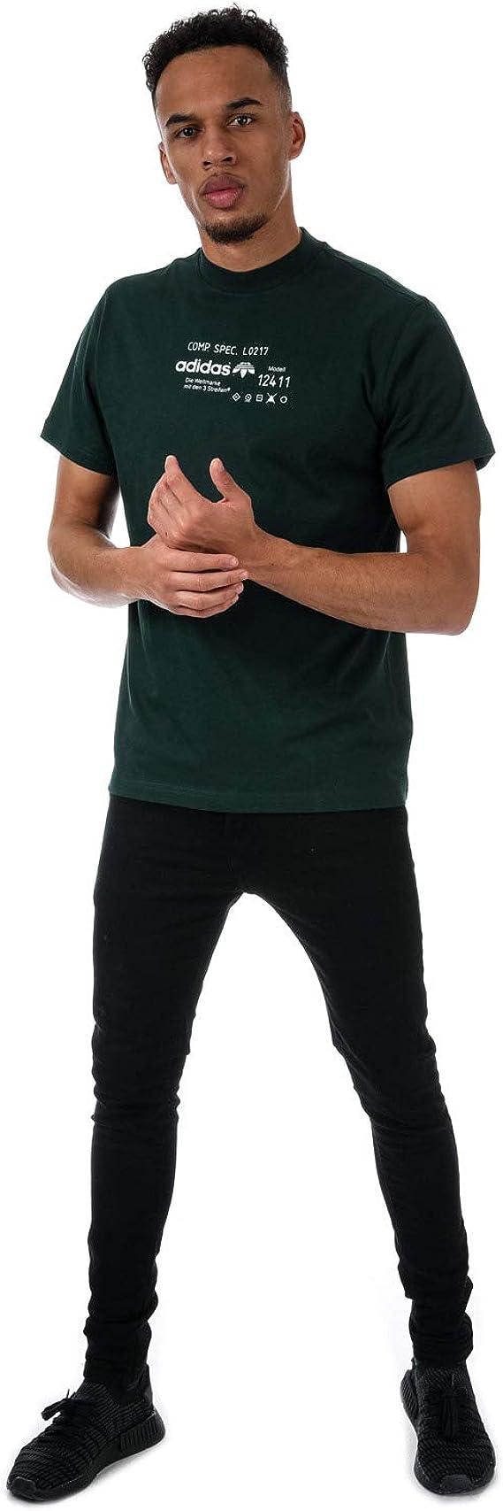 Détails sur adidas Originals T Shirt Alexander Wang Graphic Vert Homme