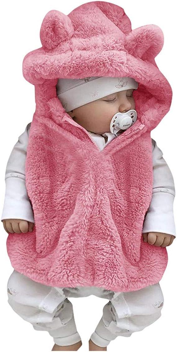 KONFA Teen Baby Boys Girls Winter Clothes,Cotton Waterproof Hooded Zipper Jacket Coat,Kids Outerwear Warm Snowsuit Set