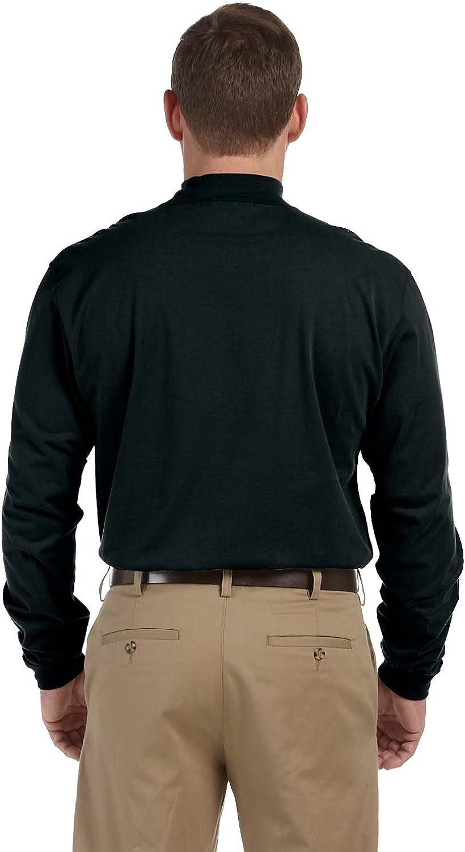 New SALE! Devon /& Jones Sueded Cotton Jersey Mock Turtleneck Sweater Shirt D420