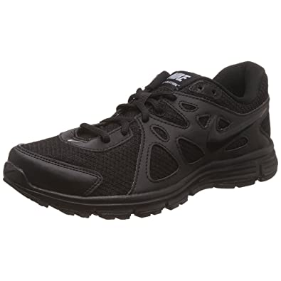 Nike Black School Shoes for Men Ankle Lace-Up Formals (UK/India Size