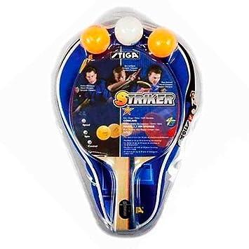 Amazon.com: STIGA Striker 1 - Juego de tenis de mesa con ...
