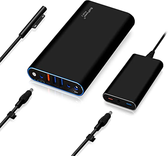 BatPower ProE 2 ES7B 98Wh MS Surface Power Bank for Surface Pro X 7 6 5 4 3 2 RT Go Surface Book 2 1 External Battery Surface Laptop 3 2 1 Portable ...